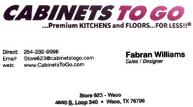 Cabinets To Go Waco, Texas