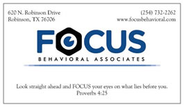 Focus Behavioral Associates - Waco, Texas